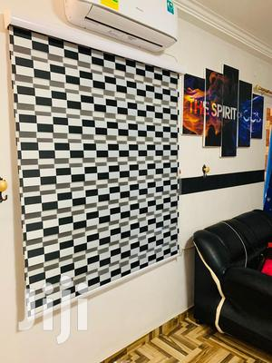 Classy Black And White Curtains Blinds | Home Accessories for sale in Ashanti, Kumasi Metropolitan
