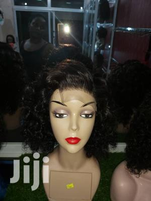 14 Inches Indian Remy Virgin Human Curly Wig Cap | Hair Beauty for sale in Greater Accra, Ga South Municipal