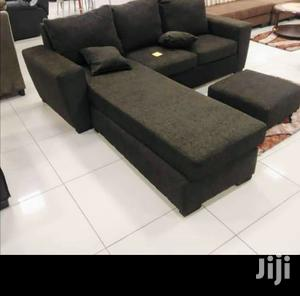 Sit Back and Relax on Quality L Shaped Sofa Chair | Furniture for sale in Greater Accra, Adabraka