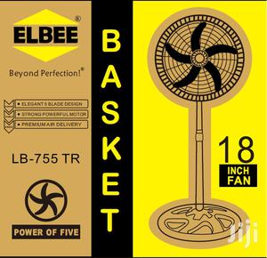 Quality Elbee 18 Inches 5 Blades Standing Fan | Home Appliances for sale in Greater Accra, Accra Metropolitan
