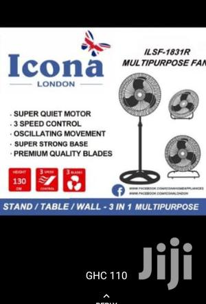 3 In 1 Standing Fan Icona | Home Appliances for sale in Greater Accra, Accra Metropolitan