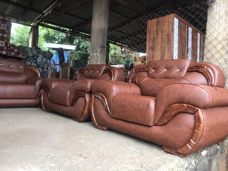 Leather Room Furniture Sofa Set