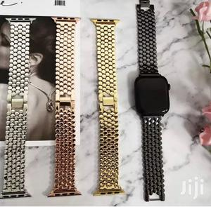 P1 Stainless Steel Strap/Band for Apple Watch Series 1 to 6   Smart Watches & Trackers for sale in Dworwulu, Nyaho Medical Centre