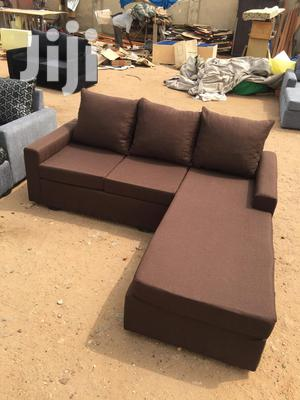 Different Designed Color L Shaped Sofa Chair | Furniture for sale in Greater Accra, Adabraka