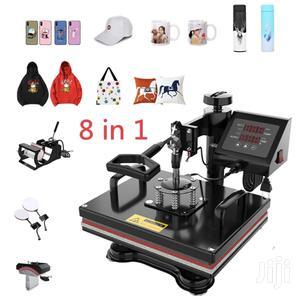 8 In 1 Heat Press   Printing Equipment for sale in Ashanti, Kumasi Metropolitan