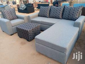 Ash Color New L Shaped Sofa Chair | Furniture for sale in Greater Accra, Adabraka