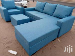Feel Comfortable With L Shaped Sofa Couch | Furniture for sale in Greater Accra, Adabraka
