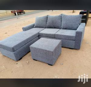 Suitable Size L Shaped Sofa Chair Couch | Furniture for sale in Greater Accra, Adabraka