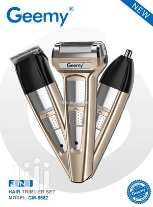 Geemy GM-6582 3-In-1 Professional Hair Clipper/Nose Trimmer | Tools & Accessories for sale in Greater Accra, East Legon