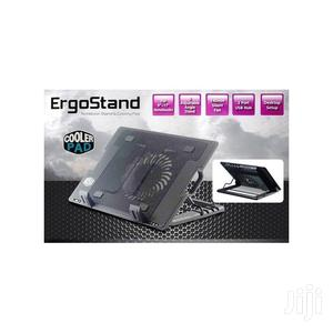 Ergostand Laptop Cooling Pad With Adjustable Stand – Black | Computer Accessories  for sale in Greater Accra, East Legon