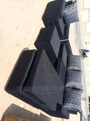 Black Good Fabric<><>L- Shaped Sofa Chair | Furniture for sale in Greater Accra, Adabraka