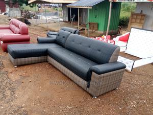 Leather Sofa Corner Set   Furniture for sale in Eastern Region, Lower Manya Krobo