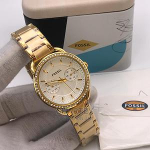 Chronograph Stainless Ladies Luxury Fossil Watch | Watches for sale in Greater Accra, Achimota