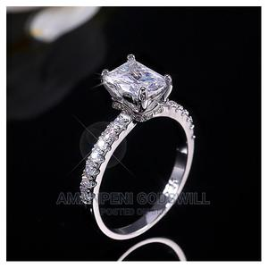 S925 Silver Female Wedding Ring Single- Silver | Wedding Wear & Accessories for sale in Greater Accra, East Legon