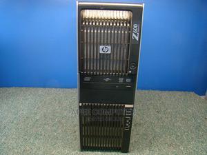 Desktop Computer HP Z6 12GB Intel Xeon SSD 1.5T | Laptops & Computers for sale in Greater Accra, Kwashieman