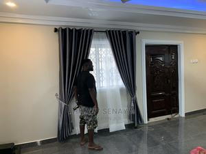 Gray Curtains   Home Accessories for sale in Greater Accra, Accra Metropolitan