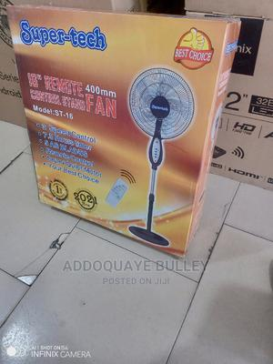 """The Best Choice 16"""" Remote Control Super Tech Standing Fan 