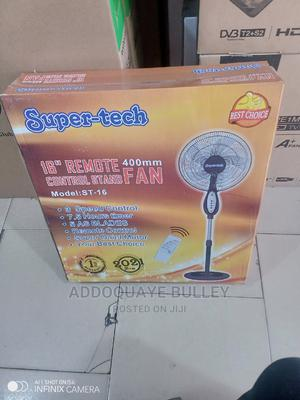 Specified and Correct Super Tech Remote Control Standing Fan | Home Appliances for sale in Greater Accra, Adabraka