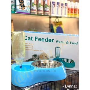 Cat Feeder ( 2in1 Feeding Bowl)   Pet's Accessories for sale in Greater Accra, Accra Metropolitan
