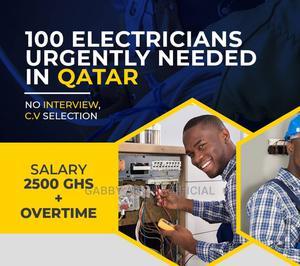 Electrician Needed in Qatar | Travel Agents & Tours for sale in Ashanti, Ejisu-Juaben Municipal
