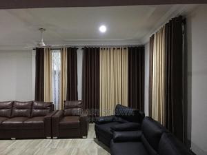 Brown Mix Curtains   Home Accessories for sale in Greater Accra, Accra Metropolitan