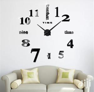 3D Effect Decorative Wall Clock   Home Accessories for sale in Greater Accra, Alajo