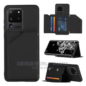 Leather Wallet Back Case 4 Samsung S21 S21+/Ultra S20/Ultra   Accessories for Mobile Phones & Tablets for sale in Greater Accra, Cantonments