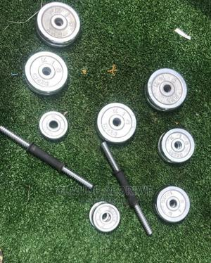 Dumbells And Barbell   Sports Equipment for sale in Greater Accra, Labadi