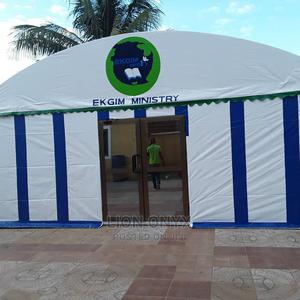 Semi-Circle / Half Round Ball Room 60FT X 25FT   Camping Gear for sale in Central Region, Awutu Senya East Municipal