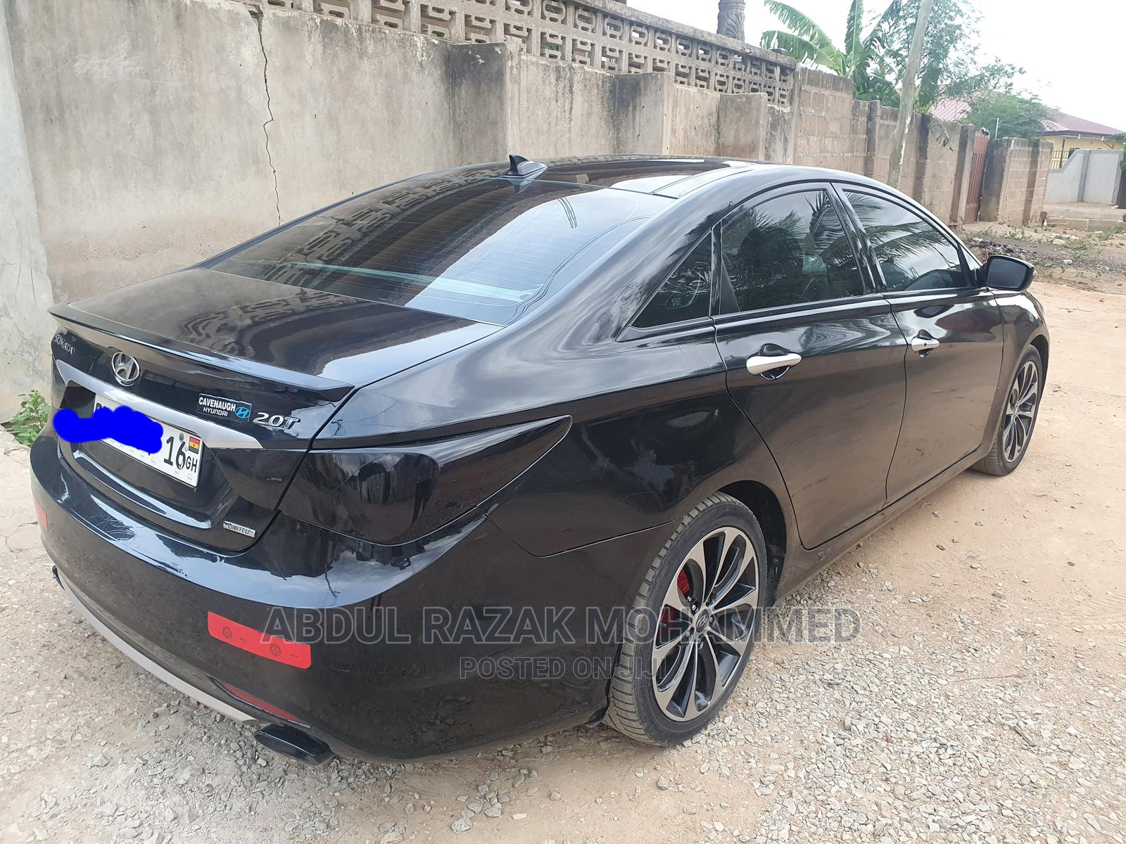 Hyundai Sonata 2012 Black | Cars for sale in Teshie, Greater Accra, Ghana