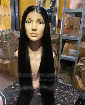 26 Inches Indian Remy Silky Straight Wig Cap | Hair Beauty for sale in Greater Accra, Ga South Municipal