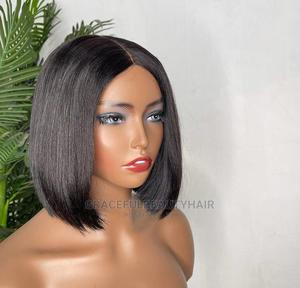 10 Inches Indian Remy Human Hair Wig Cap | Hair Beauty for sale in Greater Accra, Ga South Municipal