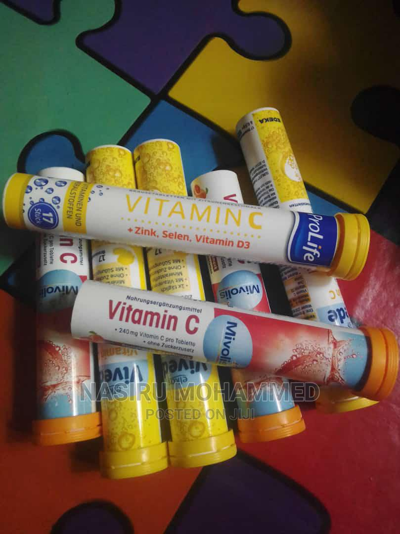 Archive: Vitamin C and Zinc Tablets