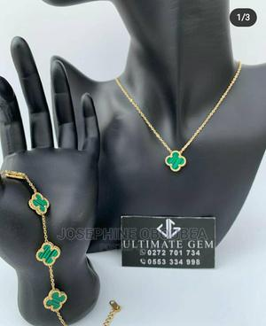 Van Cleef Necklace and Bracelet   Jewelry for sale in Greater Accra, Madina