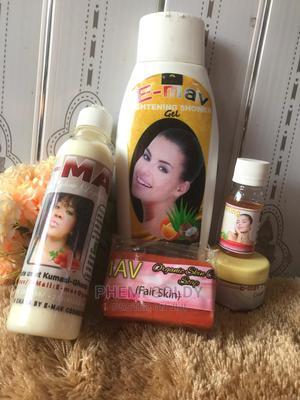E-Mav Organic Glow Lightening Set Is 100%Organic   Skin Care for sale in Ashanti, Atwima Kwanwoma