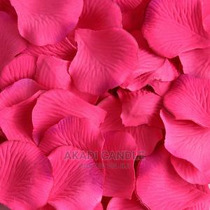 Hot Pink Rose Petals Available 200pcs, 100pcs for Half Price | Home Accessories for sale in Greater Accra, Alajo