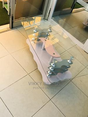 Glass Top Center Table | Furniture for sale in Greater Accra, Adabraka