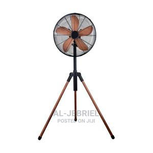 Nasco 18 Inches Standing Fan Brown   Home Appliances for sale in Greater Accra, Accra Metropolitan