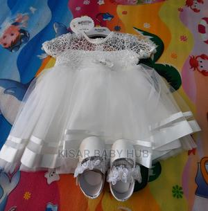 Baby Girl White Dress With Shoe | Children's Clothing for sale in Greater Accra, Tema Metropolitan