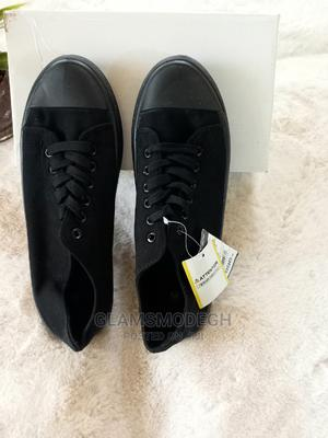 Black Solid Plimsols Sneakers . | Shoes for sale in Greater Accra, Osu