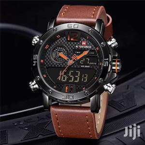 Naviforce 9134 Multifunction Leather Watch   Watches for sale in Greater Accra, Accra Metropolitan
