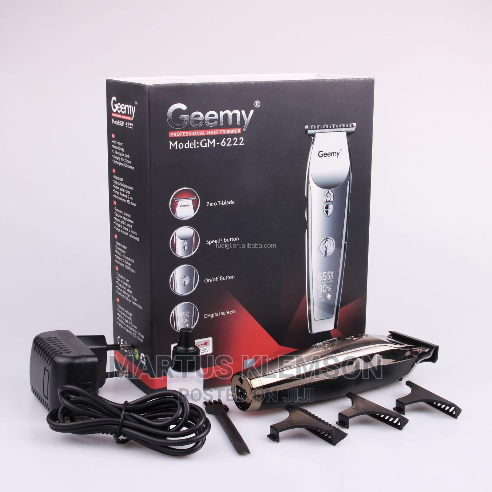 Archive: Geemy Professional Hair Clipper 6222