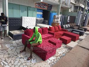 L Shaped Sofa. Free Delivery | Furniture for sale in Greater Accra, Madina