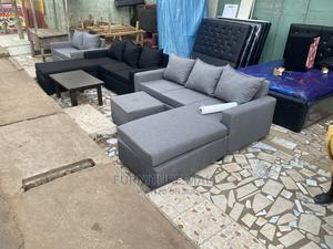 L Shaped Sofa  . Free Delivery | Furniture for sale in Greater Accra, Adabraka