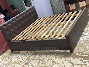 Quality Queen Size Bed . Free Delivery   Furniture for sale in Greater Accra, Anyaa