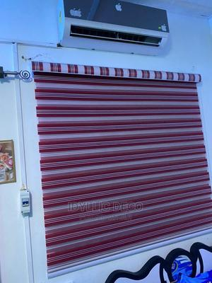 Red White Blinds Curtains | Home Accessories for sale in Greater Accra, Accra Metropolitan