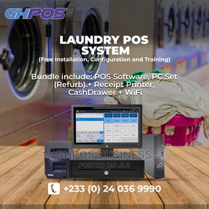 Complete Laundry POS System (Software Hardware) | Store Equipment for sale in Greater Accra, Accra Metropolitan