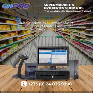 Supermarket Grocery POS System (Software Hardware) | Store Equipment for sale in Greater Accra, Accra Metropolitan