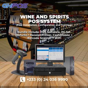 Wine Spirits POS System ( Software Hardware) | Store Equipment for sale in Greater Accra, Accra Metropolitan