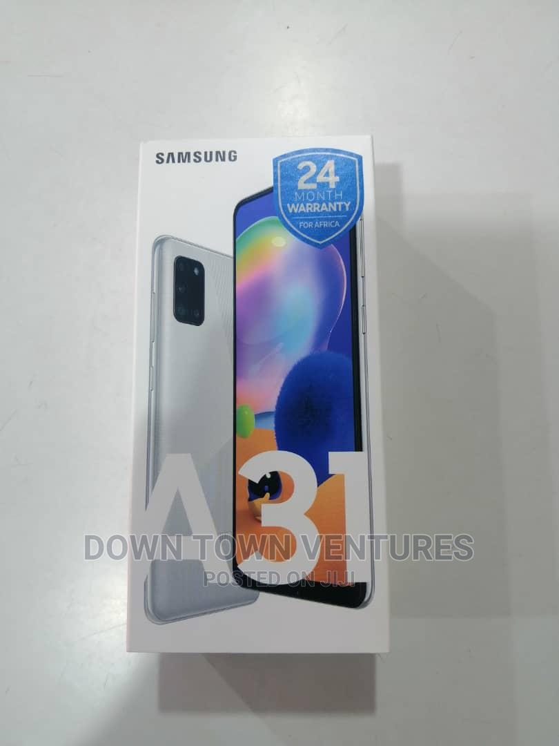 New Samsung Galaxy A31 128 GB Silver | Mobile Phones for sale in Adabraka, Greater Accra, Ghana